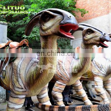 Playground Mechanical Coin Operated Dino Ride