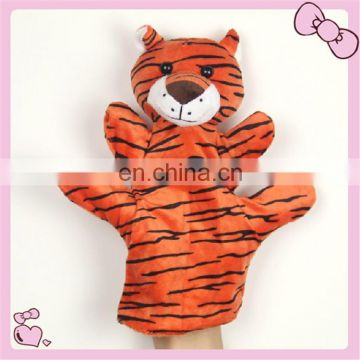 custom plush doll hand puppet