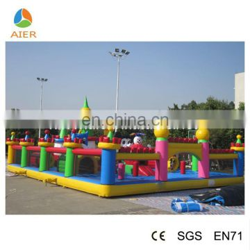Children playing park inflatable amusements, mickey playground park, mickey inflatable amusement park