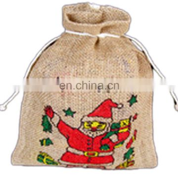 SANTA CLAUSE DRAWSTRING BAG