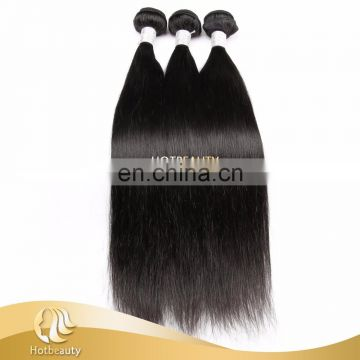 Tangle Free During Usage Virgin Human Hair Extensions Peruvian Silky Straight 10 Inch To 30 Inch