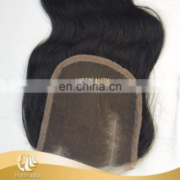 Fashion new arrival virgin indian curly 4*4inch lace closures