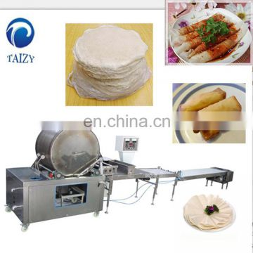 Spring Roll Peel Forming Machine|Spring Roll SkinMachine|Spring Roll Wrapper Making Machine