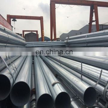 ASTM A53 gr. b 3 inch schedule 40 hot dipped galvanized steel pipe / gi pipe for construction