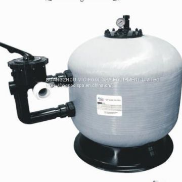 Factory 1.5'' Side Mounted Valve Swimming Pool Sand Filter for Pool water filtration and water treatment
