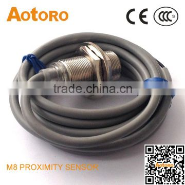 SR18-10DP magnetic hall proximity sensor china manufacturing PNP NO