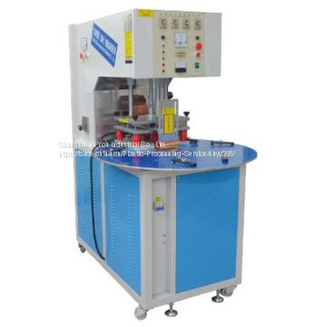 Manual Round Table High-Frequency Plastic Welding Machine from Shanghai YiYou