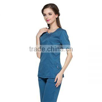 d239de54a5a Solid color medical scrub uniform women hospital uniform of Uniform from  China Suppliers - 157150202