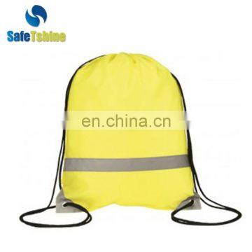 High reflective drawstring bag