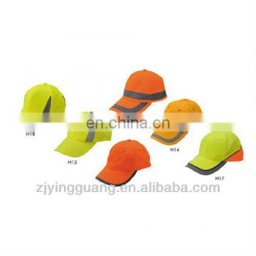 2013 NEW Style Promotional Hi-vis Reflective Safety Sport Hat