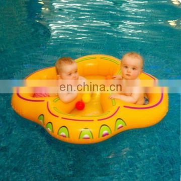 twin double baby inflatable swim float seat