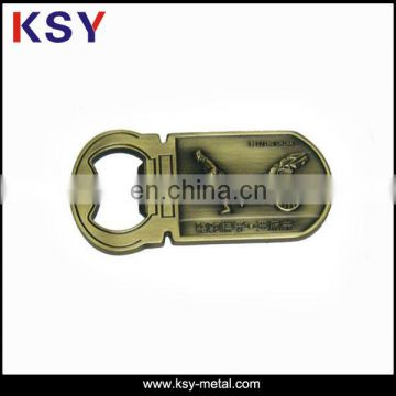 Wholesale top quality custom metal bottle opener