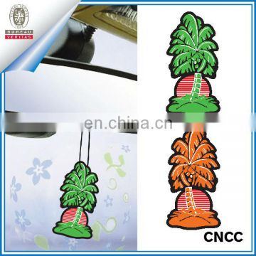 Coconut tree car paper air freshener (ZY20-5554)