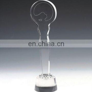 Personality design crystal souvenir trophy wholesale