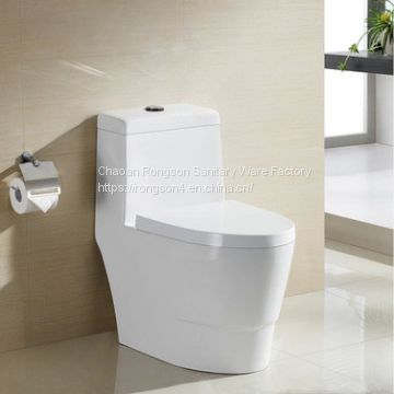Hot Selling competitive price bathroom sanitary ware white chaozhou factory Ceramics one piece toilet wc