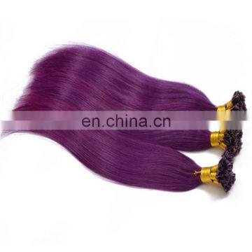 Top quality remy brazilian u tip hair extension