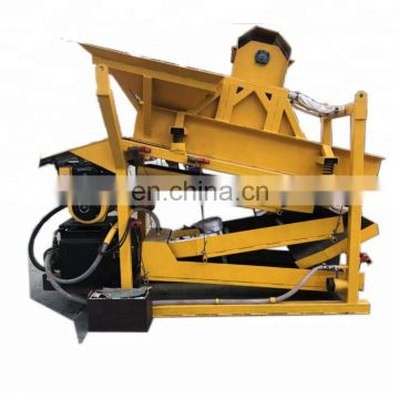 Goldwaschen machine mobil gold mining gold ore washing machine sand and stone separating machine