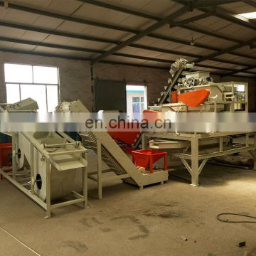 high efficiency almond husk remove machine