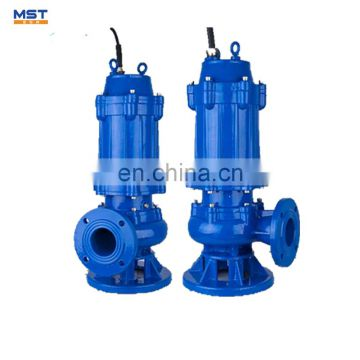 submersible pump with brushless water cooled motor