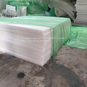 wholesale stock  50MM Polyester wadding R value heat sound proof  insulation batts