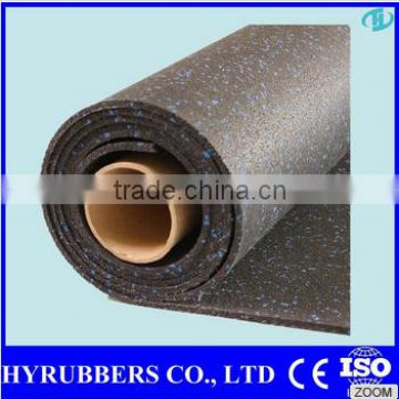 Cheap rubber floor, color Rubber Floor for Gym, Gym rubber Flooring