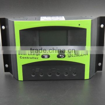 30A pwm solar charge controller with LCD screen