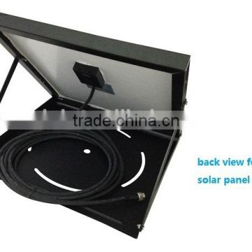 vent goods 40W solar power fan (ventilation) Auto air cooling roof fan DC solar battery system