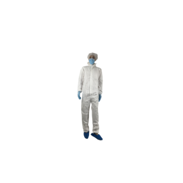 Disposable microporous paint suits and coveralls