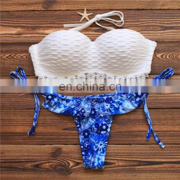 Sexy top selling women push up bikini Wholesale