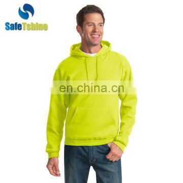Hot sale hooded solid color comfortable pullover sweater