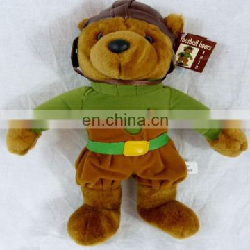 Football mascot stuffed Teddy Bear