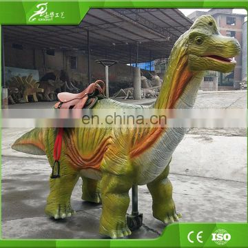 Interesting attractive kids amusement mechanical dinosaur rides for sale