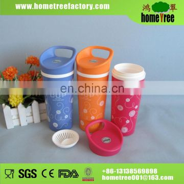 Hot Sale Sealable 2 Layers Mineral /Hot Plastic Water Bottle Design
