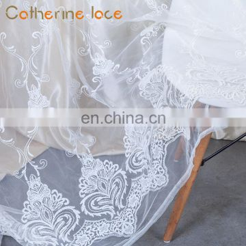 Catherine Cheap High Quality Decoration Styles Continuous Lace Curtains For Sale