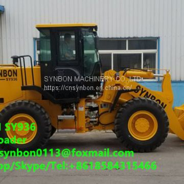 SYNBON SY936 Front shovel wheel loader, a variety of auxiliary tools, simple operation, wide application