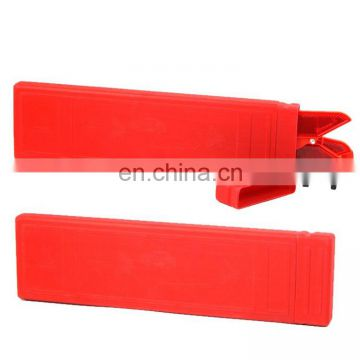 Plastic and Red Mini Emergency Warning Triangle and Car Triangle Warning Sign for Safety