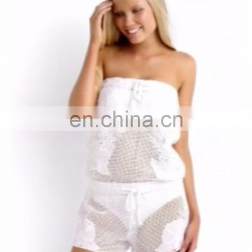 CASUAL WHITE PLAYSUIT