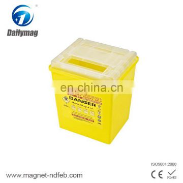 Disposable Hospital Biohazard Container Sharp Collector Waste Bin