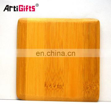 Made in china factory cheap custom pu leather coaster with sewed edges