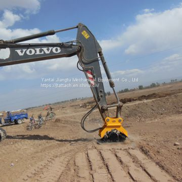 Excavator Plate Compaction Attachments