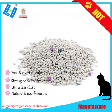 SCENTED Bentonite cat litter with 5kg, ultra less dust, super odor control, hard clump