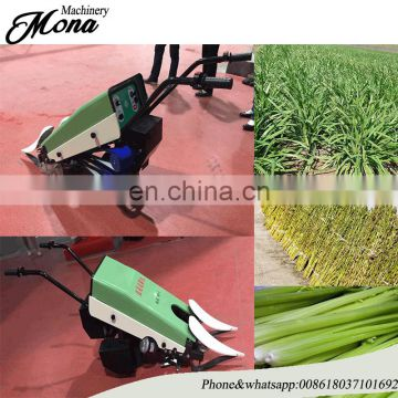 Full Automatic Green leek reaper machine Harvester for sale