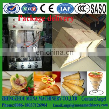 Pizza cone forming machine Ice cream cone maker Automatic pizza cone maker with oven