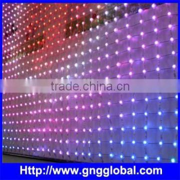 Flex Mesh LED Screen Soft Mesh LED Curtain for Indoor and Outdoor Use                                                                         Quality Choice