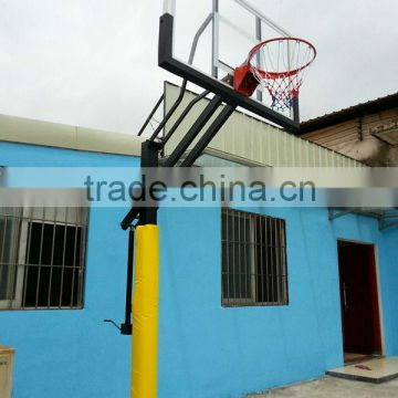 height adjustable basketball board with stand,steel basketball hoop