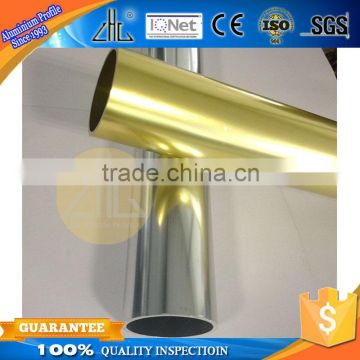 Hot! Export AE aluminum railing profile factory , polish