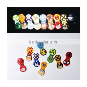 reflective pvc magnet clip for bags