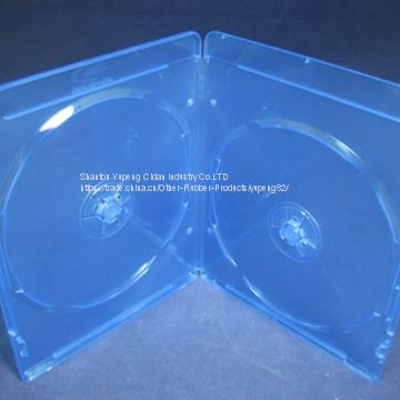 blue ray dvd cases blue ray dvd box blue ray dvd cover 7mm double rectange good quality with lower price (YP-D864H)
