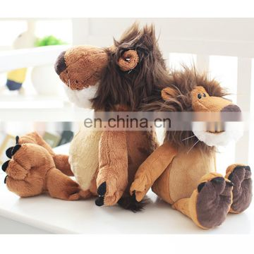 High quality plush stuffed lion animal toys for sale
