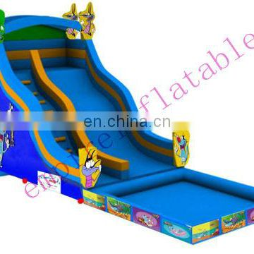 inflatable toys,commercial inflatable slide,inflatable pool slide WS056
